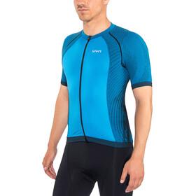 UYN Biking Activyon OW Blouse korte mouwen Heren, blue dodger/anthracite/black